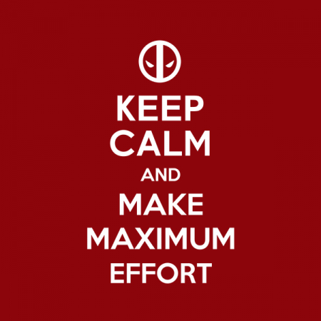 maximum effort - NeatoShop